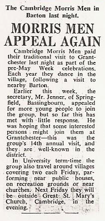 Cambridge Weekly News, June 1965