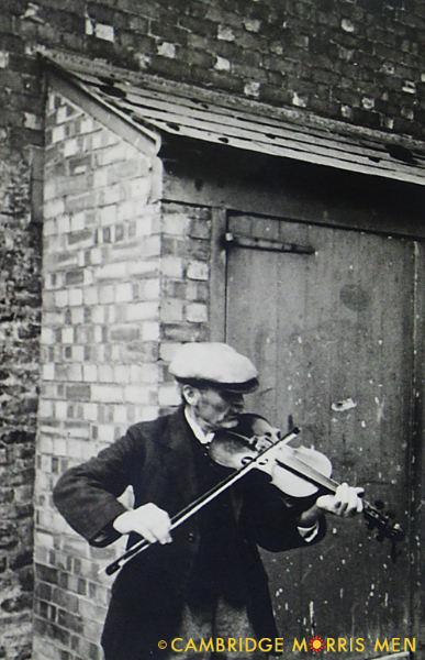 Jinky Wells plays for The Travelling Morrice, 1936